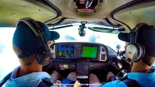Flying a 2014 Cirrus SR22T to the Beach
