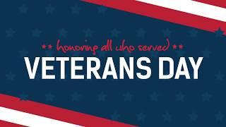 Veterans Day Tribute 2018