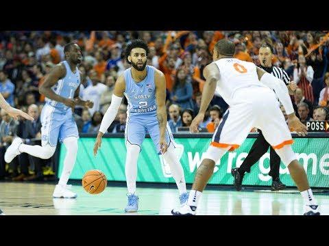 UNC Men's Basketball: Tar Heels Fall at Virginia, 61-49