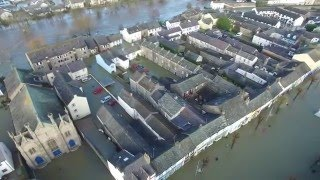 Flooding at Cockermouth - Storm Desmond - 5th and 6th December 2015