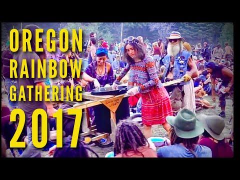 Oregon Rainbow Gathering 2017 Altruist Relief Kitchen