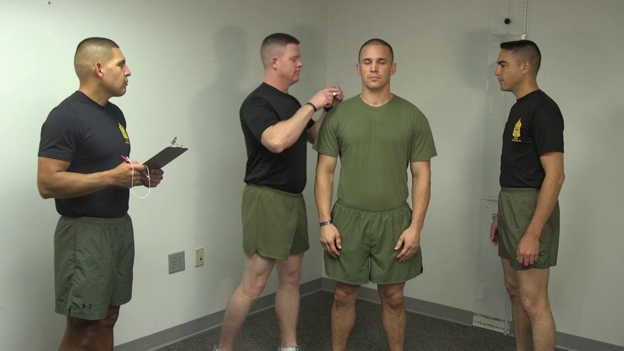 Tape Measure Test >> USMC PFT/CFT/BCP Instructional Video - YouTube