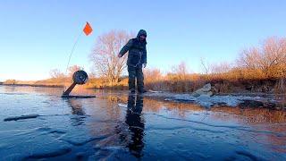 Рыбалка по первому льду 2020 Щука на жерлицы