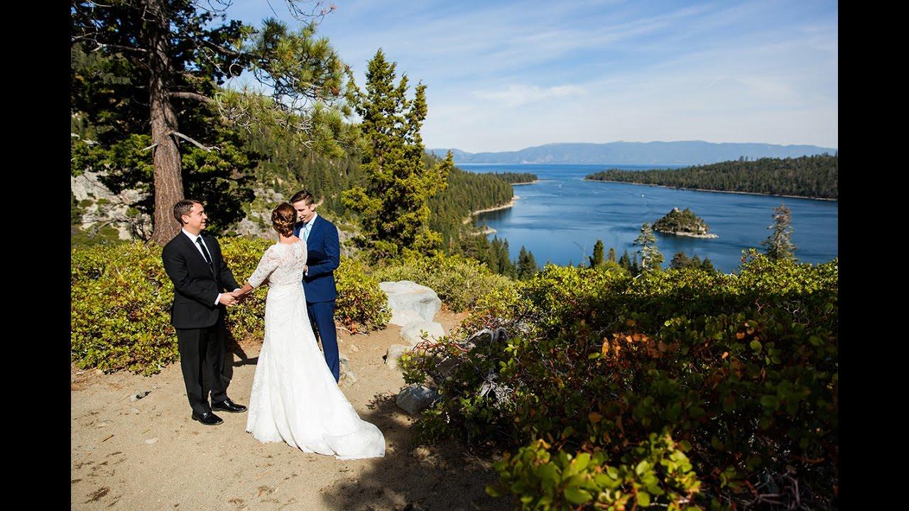 Emerald Bay Wedding Photos Lake Tahoe
