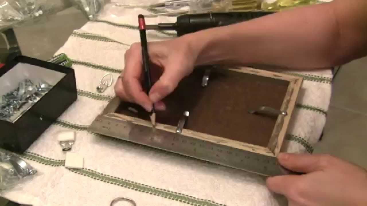 how to frame art on canvas/ panel - YouTube