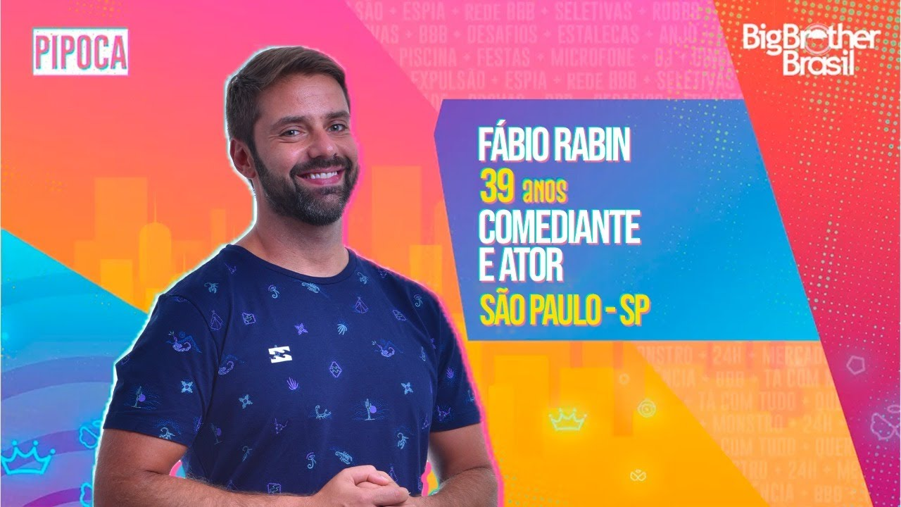 Fábio Rabin - Big Brother Brasil 21