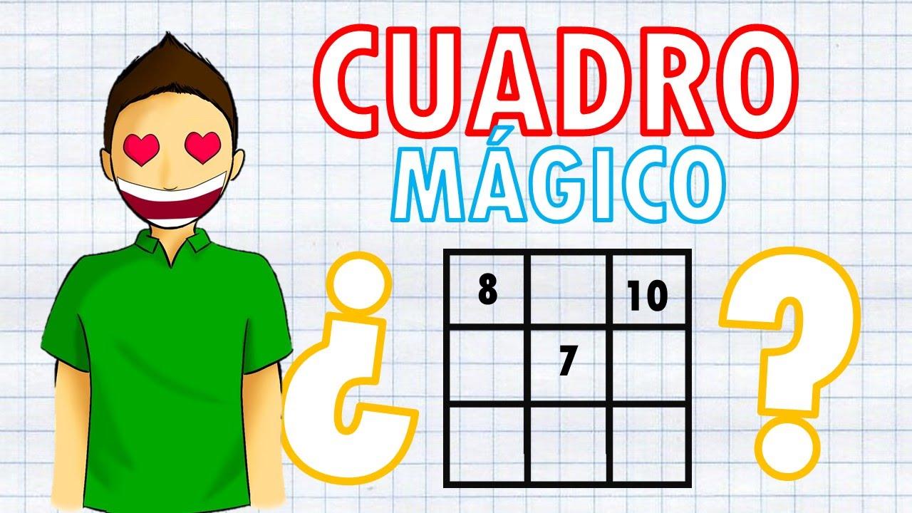 Como resolver un CUADRO MÁGICO Super Facil - YouTube
