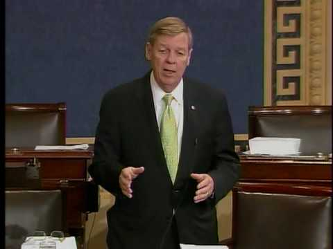 Senator Johnny Isakson on Corker Amendment on Underwriting S