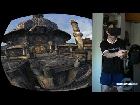 Movimiento y cobertura con Oculus Rift y Razer Hydra