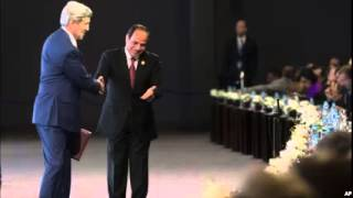 Kerry Pledges US Support for Rebuilding Egyptian Economy