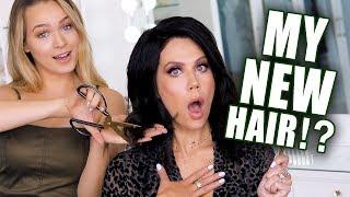 MY HAIR MAKEOVER ft  Kayley Melissa