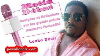 MATIN DÉBAT - Mardi 16 octobre 2018  / Ekip LOUCO DÉSIR ap kòmante aktyalite a