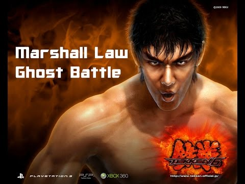 Tekken 6:Marshall Law Ghost Battle