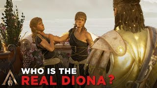 Right Diona vs Wrong Diona (Who is the Real Diona?) - Assassin's Creed Odyssey