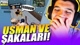 GHOSTCU USMAN İLE BİRLİKTE RANK KASTIK! | PUBG Mobile Erangel Gameplay