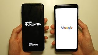 Pixel 2 XL vs Galaxy S8 Plus Speed & Camera Test!