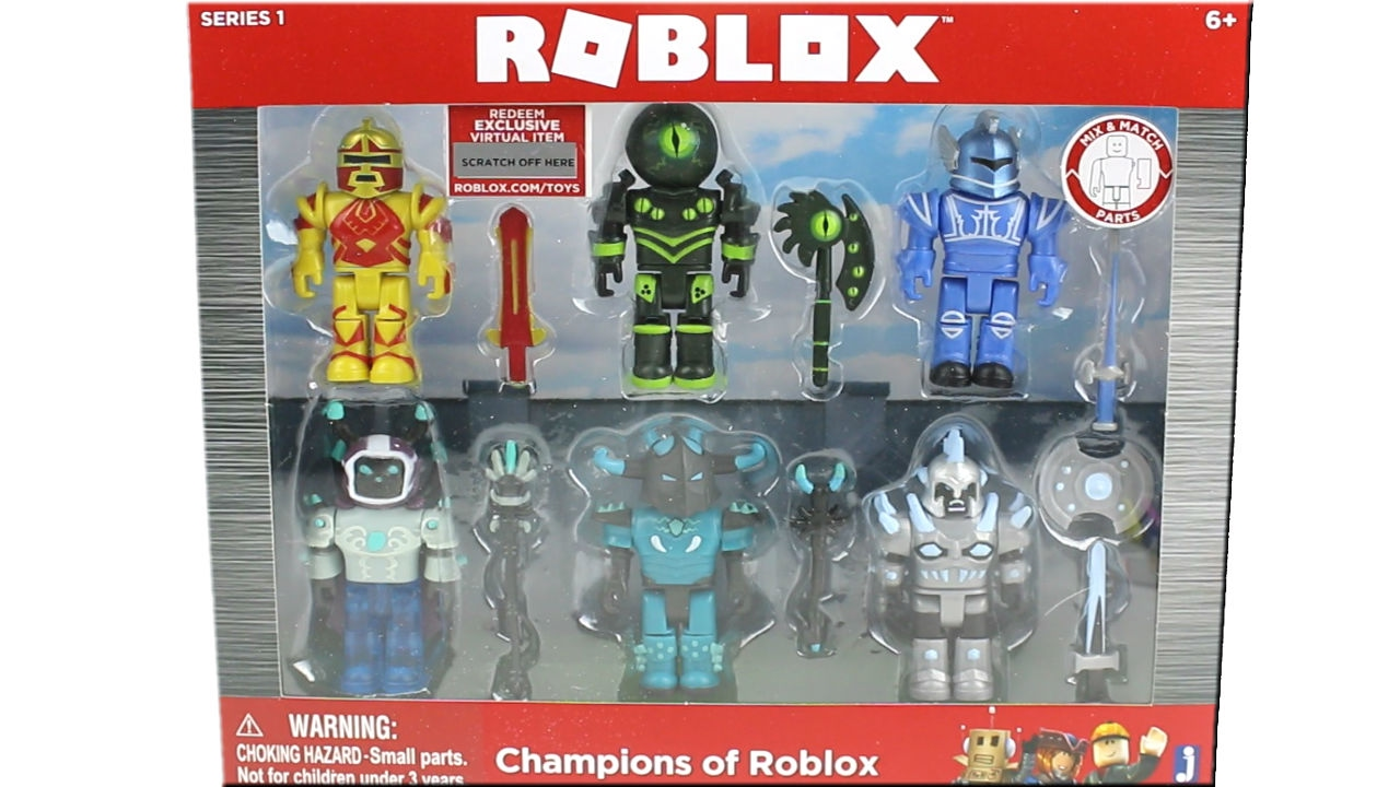 Champions of ROBLOX 6 figure