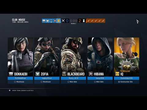 Rainbow Six® Siege: ThIQ Game Play with Friends