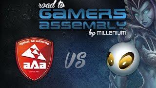 aAa vs Dignitas EU Road to Gamers Assembly Game 3 Quart de finale