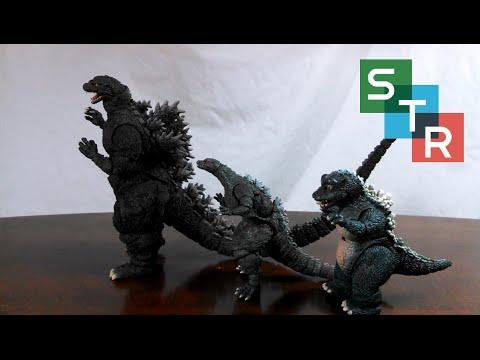 S.H. MonsterArts Godzilla (1995 Birth Ver.) Review - YouTube Godzilla 1995 Birth
