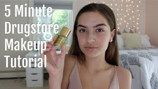 5 Minute Drugstore Makeup Tutorial for School ☆ In today's video I ...