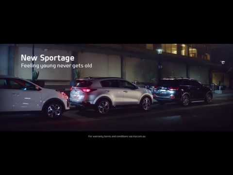 Kia Sportage – Feeling Young Never Gets Old