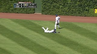 Alcantara lays out to rob Loney of a hit