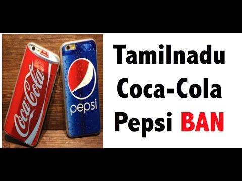 Pepsi Coke Ban in Tamilnadu - Burning debate - UPSC/IAS/PCS