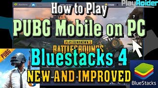Gambar cover How to Play PUBG Mobile on PC with the NEW Bluestacks 4 Emulator!