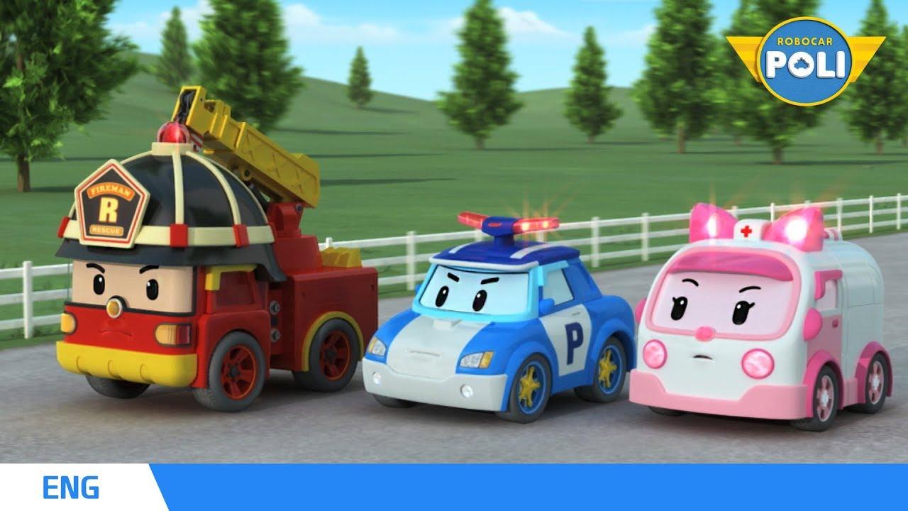 Download Robocar POLI Season 1 | Ep. 01 Rescue Team of Brooms Town | Robocar POLI TV