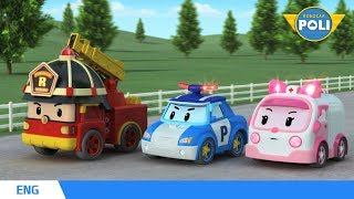 Robocar POLI Season 1  Ep. 01 Rescue Team of Brooms Town  Robocar POLI TV