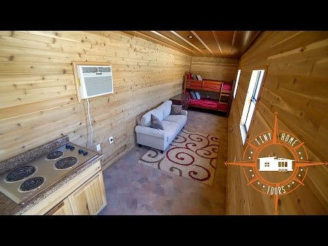 Simple & Effective Shipping Container Tiny House Build For $15k