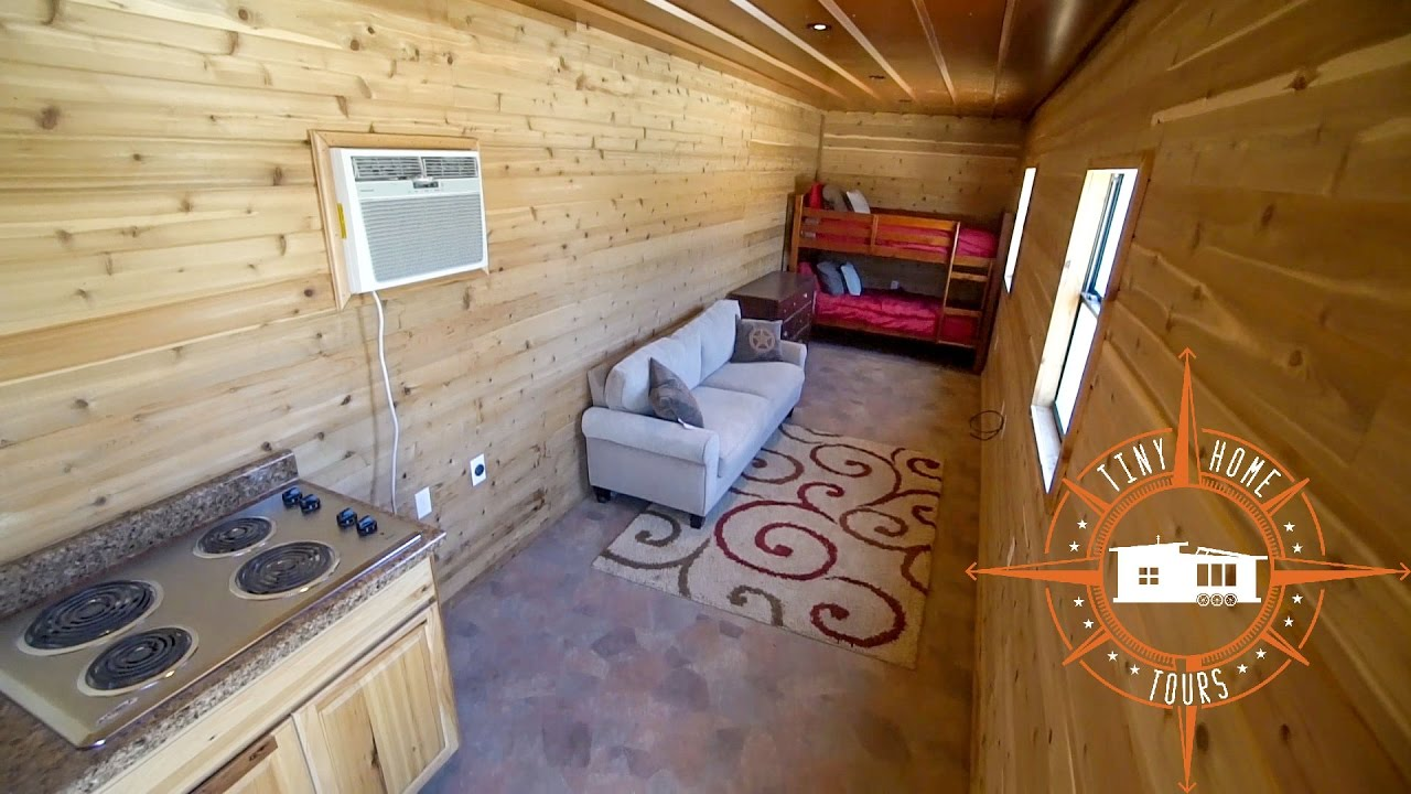 Best Kitchen Gallery: Simple Effective Shipping Container Tiny House Build For 15k of Shipping Container Tiny Home on rachelxblog.com