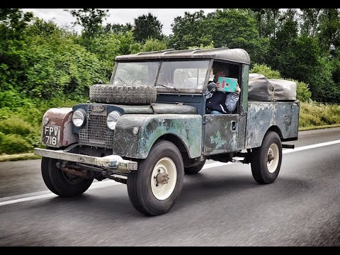The Baltic Express Part 2. Land Rover Series One Road Trip.