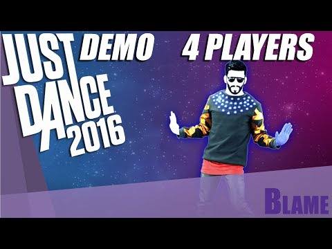 Just Dance 2016 Demo [PS4] [PS CAMERA] [4 Players] | Blame