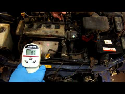 Toyota 4a-fe 1.6 Corolla Engine Cold Start