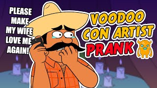 Crazy Voodoo Con Artist Prank (ft. Juan and Tyrone) - Ownage Pranks
