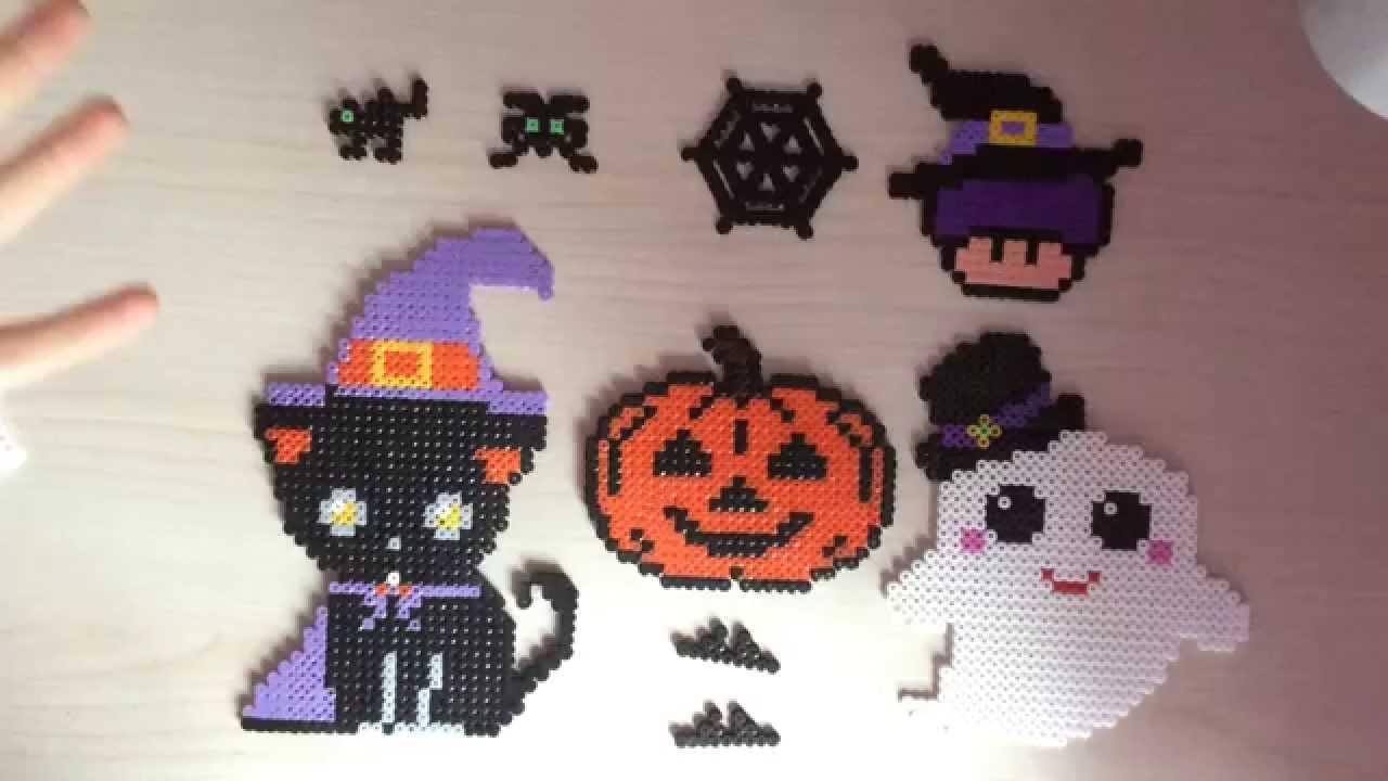 Zucca Di Halloween Pyssla.Le Mie Creazioni Di Halloween
