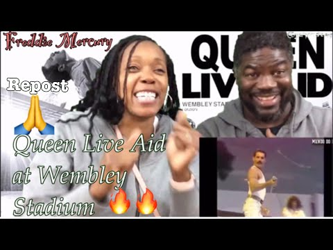 Queen-Live Aid (REACTION )