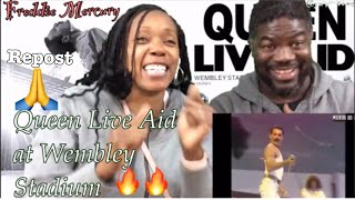 Download Queen-Live Aid (REACTION ) Mp3 and Videos
