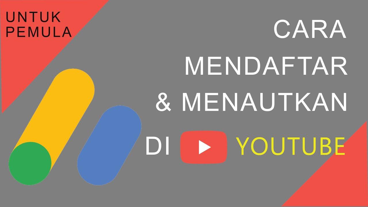 Cara mendaftarkan akun youtube ke google adsense,2