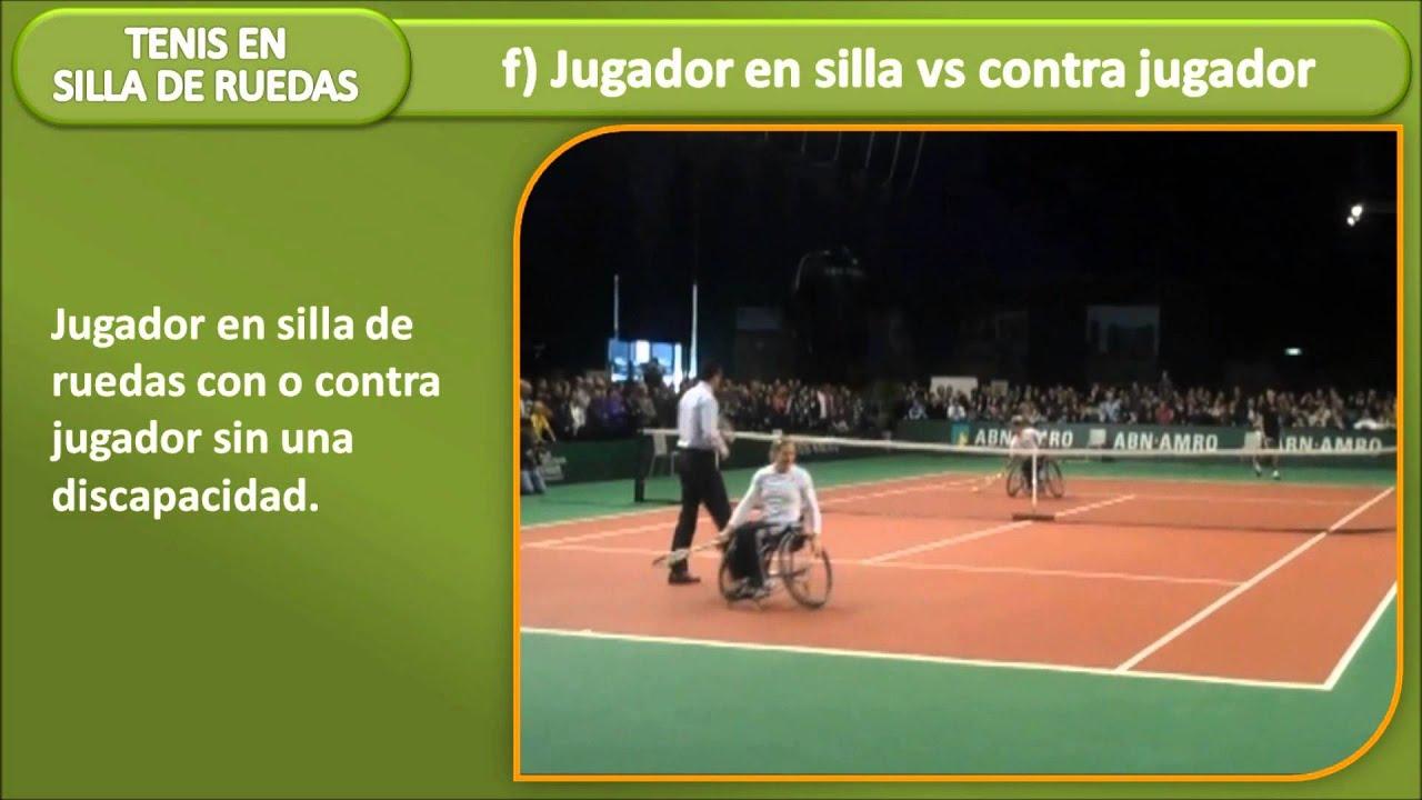 Reglas del Tenis en silla de ruedas  YouTube