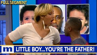 I have 3 kids counting you makes 4! | The Maury Show