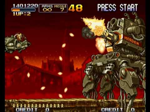 Let's Play Metal Slug 2 #03: Sneaking Aboard a Cargo Train