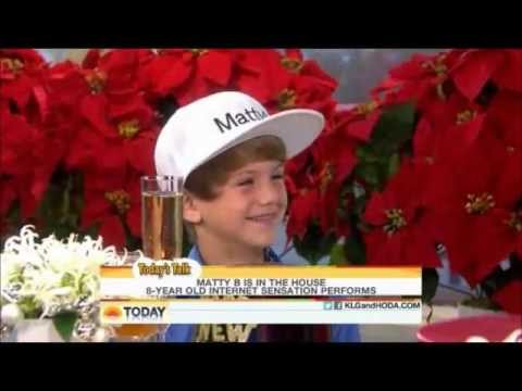 MattyBRaps LIVE on the Today Show - Ice Ice Baby