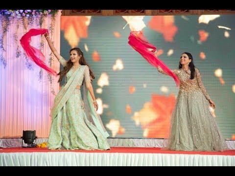 Chunari Chunari | Laung Gawacha | Bride and Sister Dance | Dancamaze | Sangeet Dance
