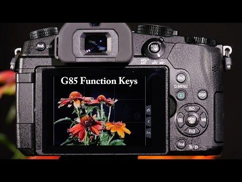 Panasonic LUMIX DMC-G85 FN Keys