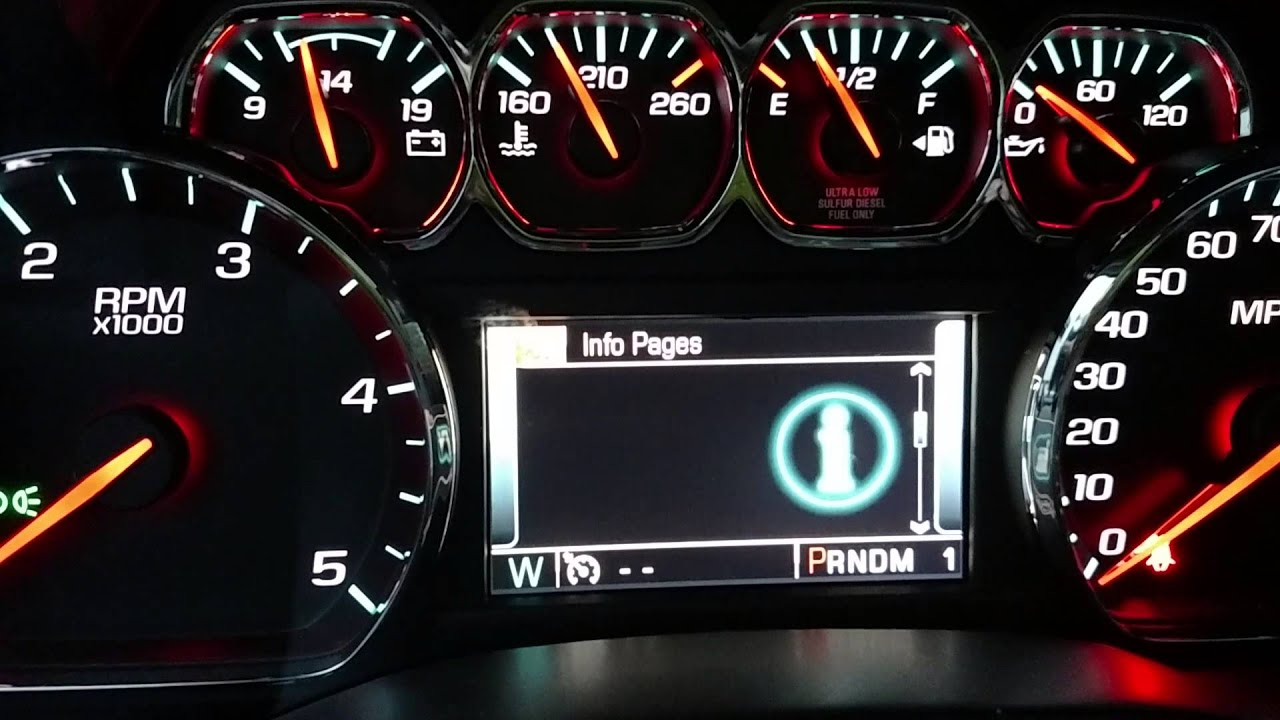 High Country Chevrolet >> Chevy transmission temperature gauge - YouTube