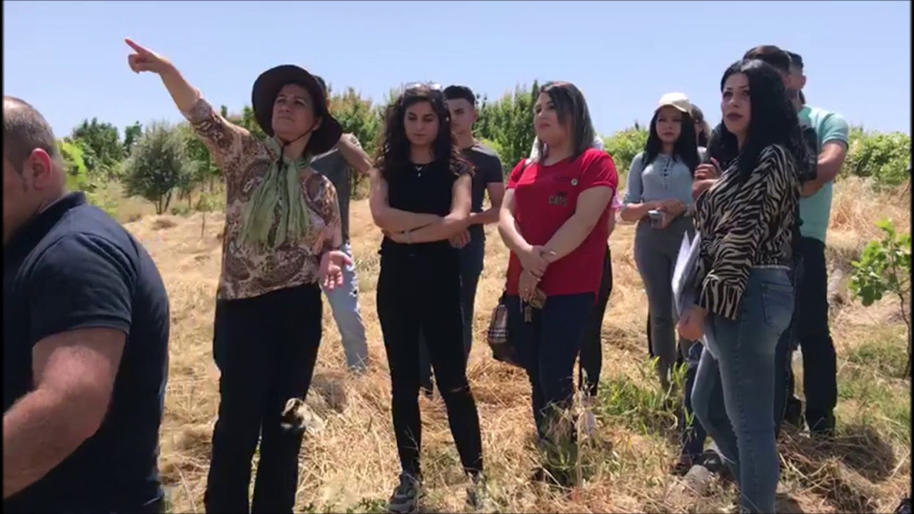 178 - Agricultural learning trip for youth of Ain Sifni