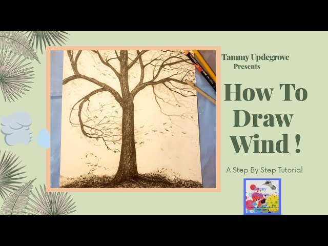 Learn How To Draw Wind!!!